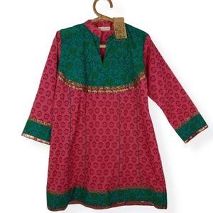 Printed Tunic Dress NWT